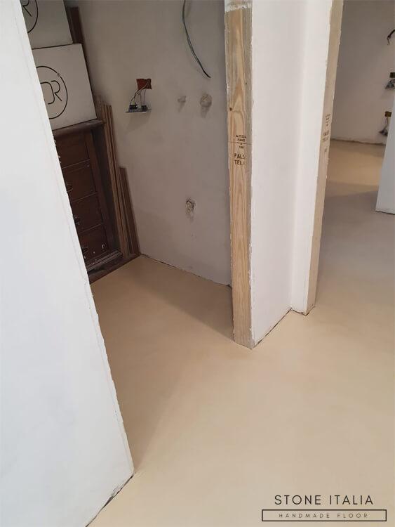 Pavimento in microcemento Basfloor